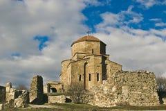 Jvari Monastery near Mtskheta, Georgia. Jvari Monastery is a Georgian Orthodox monastery of the 6th century near Mtskheta, Mtskheta-Mtianeti region, eastern Stock Photo