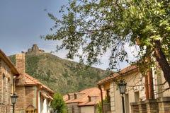 Jvari monastery near Mtskheta Stock Image