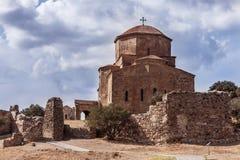 Jvari monastery Royalty Free Stock Photography
