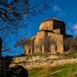 Jvari Monastery is a sixth century Georgian Orthodox monastery n Stock Image