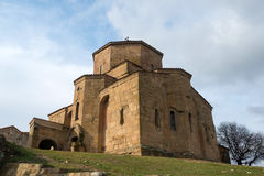 Jvari Orthodox Monastery in Mtskheta Royalty Free Stock Images