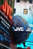 JVC Times Square Stock Image