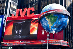 JVC - Times Square Royalty Free Stock Images