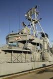 Jóvenes de USS Cassin en la yarda naval de Boston Fotografía de archivo