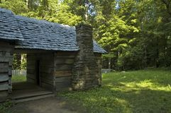 JW_042_067_05. Ephraim Bales Place, Great Smoky Mtns NP, TN stock photos