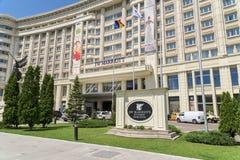 Jw Marriott Bucharest tusen dollarhotell Arkivbilder