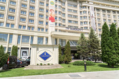 Jw Marriott Bucharest tusen dollarhotell Arkivfoton