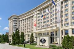 Jw Marriott Bucharest tusen dollarhotell Arkivbild