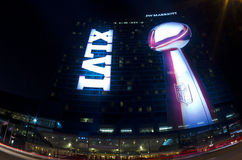 JW Marriott Superbowl 46 Indianapolis Royalty Free Stock Images