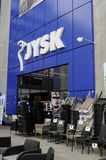 JYSK DANISH TRADE MARK Stock Photos