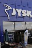 JYSK DANISH TRADE MARK Stock Photo