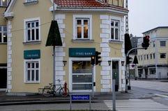 JYSKE-BANK Royaltyfria Foton