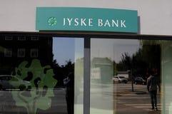 JYSKE-BANK Royalty-vrije Stock Fotografie