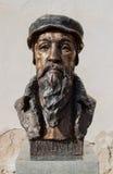 Kálvin János statua Obraz Stock