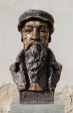 Kálvin János staty Fotografering för Bildbyråer