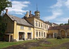 Károlyi castle. In Füzéradvány is the rear entrance of a Károly castle Royalty Free Stock Photography