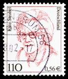 Käte Strobel, polityk, kobiety w Niemieckim historii seria około 2000, (1907-1996) obrazy royalty free