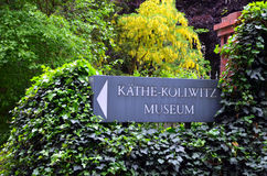Käthe Kollwitz museum (Berlin). The Käthe Kollwitz Museum in Berlin owns one of the largest collections of works by the German artist Käthe Kollwitz (1867– Stock Images