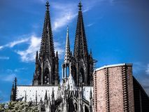 Köln Dom Royaltyfri Bild