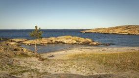 Köster-Insel-Landschaftsschutzgebiet stockbild