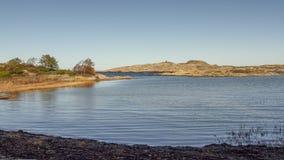 Köster-Insel-Landschaftsschutzgebiet lizenzfreie stockbilder