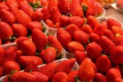 Köstliche frische Erdbeerfrucht lizenzfreie stockfotos