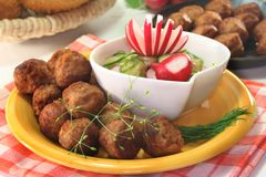 Köttbullar Royalty Free Stock Photography