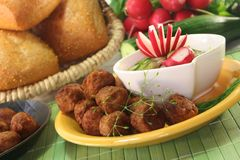 Köttbullar Stock Photos