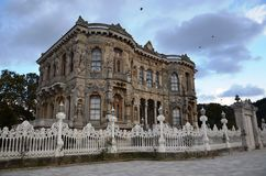 Kucuksu palace in Istanbul, engaging Stock Image