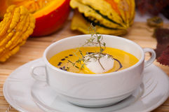 Kürbissuppe 1 Stock Photo