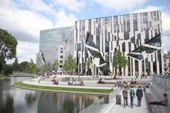 Kö-Bogen Dà ¼ sseldorf budynek, Niemcy Obraz Royalty Free