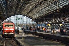 Köln Hauptbahnhof (3),科隆,德国 免版税库存照片