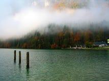 湖Königssee 库存照片