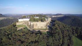 KÃ-NIGSTEIN/堡垒-飞行在堡垒 股票视频