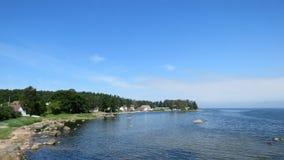 Käsmu nel parco nazionale Estonia di Lahemaa fotografie stock libere da diritti