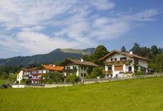 Kössen in alpi, Austria Fotografia Stock
