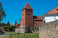 Köszeg城堡 免版税图库摄影