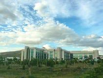 Kırıkkale universitetfakultet av medicinbyggnad Det Kırıkkale universitetet är en universitetlocat Fotografering för Bildbyråer