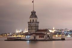 Kız Kulesi, torre nubile del ` s Fotografie Stock