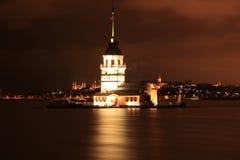 Kız Kulesi, torre nubile del ` s Fotografia Stock Libera da Diritti