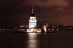 Kız Kulesi, torre virginal del ` s Foto de archivo