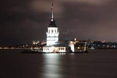 Kız Kulesi, torre virginal del ` s Fotos de archivo