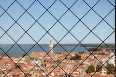 Käfig oder Zaun Stockfotos