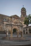 Källan av Santa Maria royaltyfria bilder