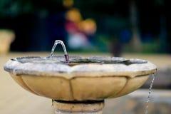 Källan av vatten Royaltyfria Foton