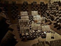 källarechampagne Arkivbilder