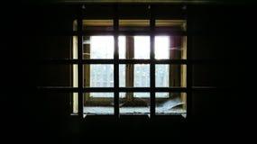 Källarefönster Royaltyfria Bilder