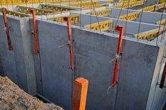 källarekonstruktion Arkivfoto