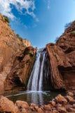 Källor Oum hm Rbia, Aguelmam Azigza nationalpark, Marocko arkivbilder