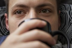 Kälten und Grippe Lizenzfreies Stockbild